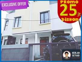 Rumah 2 Lantai Bonus KtchenSet di dkt Riung f Gedebage Margahayu Kodya