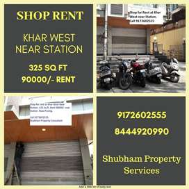 Khar West Shop Rent