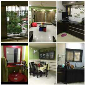 Ready to 2bhk fully furnished flat