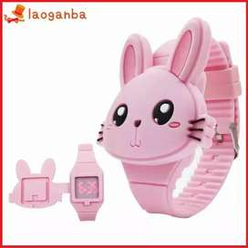 Jam tangan anak bunny rabbit kelinci lucu model terbaru keren langka