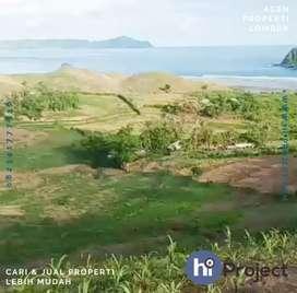 Tanah Bukit dekat Pantai di Sekotong Lombok barat T458