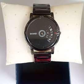 Skmei 1260 original desain unik waterresist jam tangan malang free cod