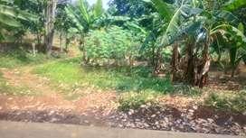Tanah di bojonggede dekat rencana tol JORR2