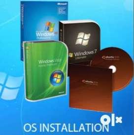 Computer service (OS Installation)