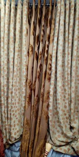 curtains available  beautiful heavy fabric