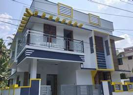 3 cent,1600 sqft 4 bhk house Vattiyoorkavu