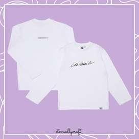 Kaos BTS Life Goes On T-shirt Long sleeve