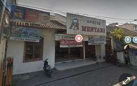 Dijual murah..Rumah dan ruang usaha dekat Kampung Prawirotaman yogya