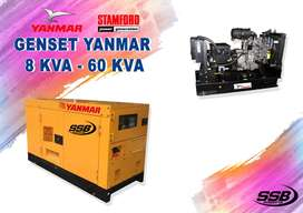 GENSET YANMAR STAMFORD 8 KVA - 60KVA