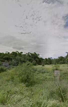 Dijual tanah sebidang 1020 meter persegi.