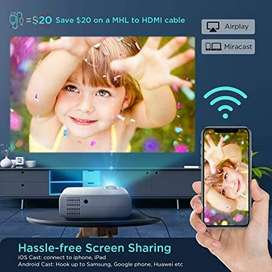 IPL Offer 100 inch WiFi LED HD Projector Watch TV Movies on Big Screen