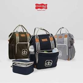 Tas Ransel + Cooler Bag Classy Series / BABYSHOP JOGJA LENGKAP