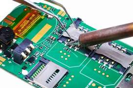 Mobile laptop reparing and teaching with schmetic diagram