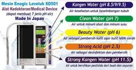 Dijual Mesin kangen water Leveluk SD501