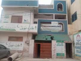 Gulshan-e-iqbal block 10.a opp aladin park portions and flats for rent