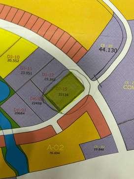 Disewakan Tanah Komersil di Area PIK 2