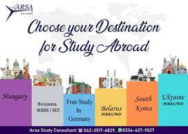 Study Visa Abroad Consultants for Hungary ,Germany ,South Korea,