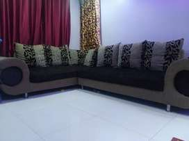 L type 7 seater sofa