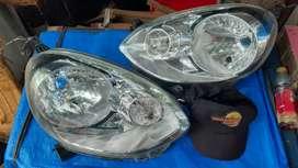 Headlamp nissan march 2014 original hrga satuan