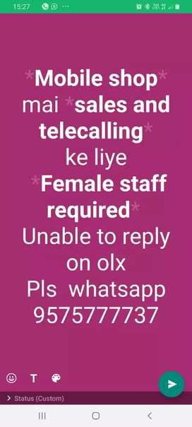 Sales n Telecalling ke liye