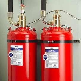 Refill fm200 LIQUID GAS HCFC NOMEX pemadam otomatis deteksi api sby