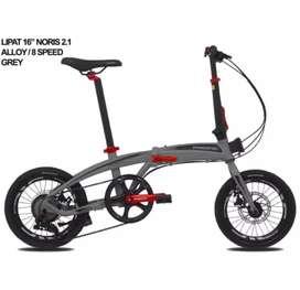 Sepeda lipat noris 2.1 ukuran 16