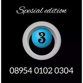 Nomor cantik istimewa spesial edition Three exclusive 01 02 03 04