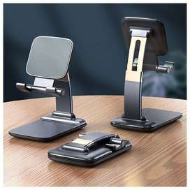 Mobile stand Foldable Gravity Desktop Holder for Smartphone and Tablet