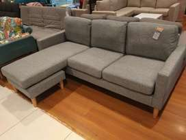 kredit Sofa Grey