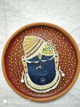 God plate decoration..