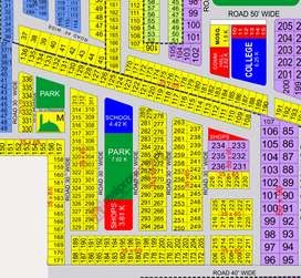 10 Marla Plot for sale very good location in UET housing society Block