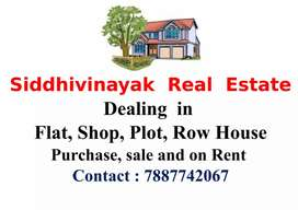 1bhk 2BHK flat available on rent in Nashik Road