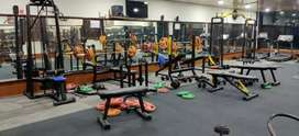 all gym machines in good condition, full cardio, full strength machin