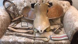 Leather Horse riding complete saddle set