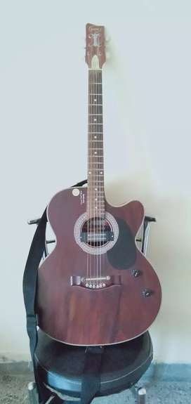 Grason semi acoustic /semi electric guitar