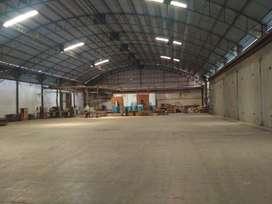 gudang dijual  kawasan industri candi 8100 / 6000