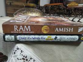 selling 4 Books wimpy kid,3 mistakes , losing gemma,Ram amish
