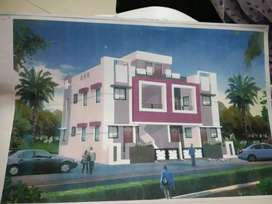 Super 4 bhk house with semi furnished