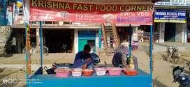Fast food corner & shop