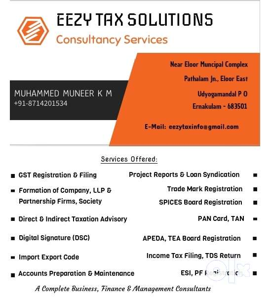 Eezy Tax Business Consultancy Services... 0