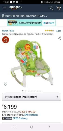 Newborn to toddler rocker