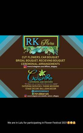 Calanthe Decors and Caterers and RK Flora..for dream wishers...
