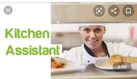 Wanted kitchen assistant/helper for restaurant in peelamedu