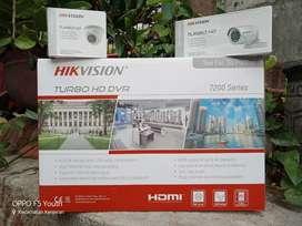 Paket 4 kamera cctv merk hikvision