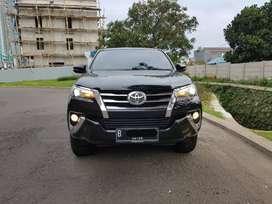 Toyota Fortuner 2.4 Vrz 4x2 Diesel AT Double Disk Hitam
