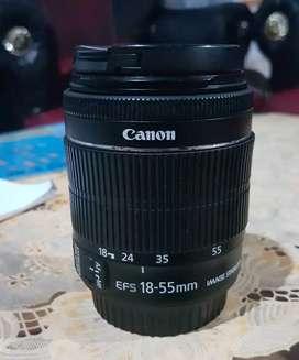 Lensa canon 18-55mm stm