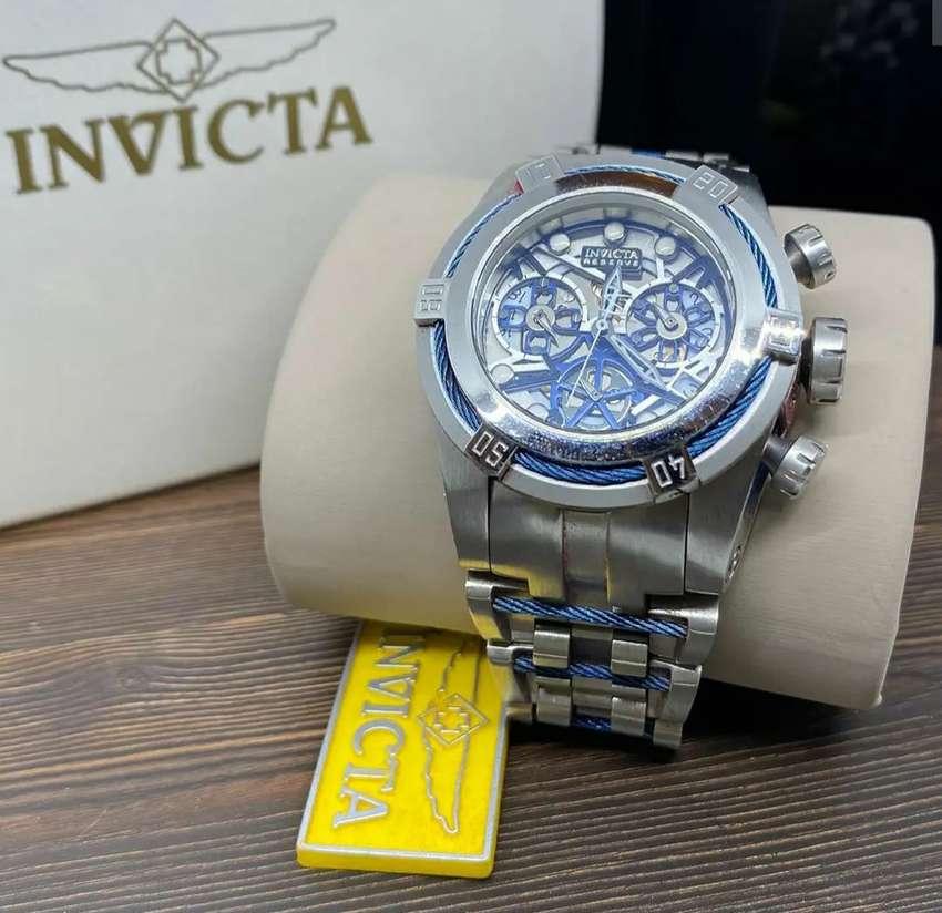 Original invicta fullset chronograph 0