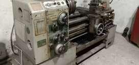 Di jual sepaket mesin bubut & milling Jepang