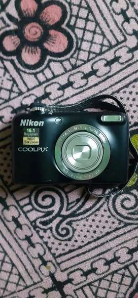 NICON DSLR coolpix CAMERA  ULTRAWIDE  ZOOM  WITH  HIGH  CAPTURED