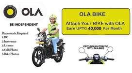 Wanted OLA Bike taxi drivers in Chennai